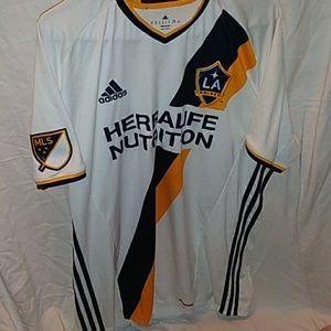 Adidas LA Galaxy soccer football jersey